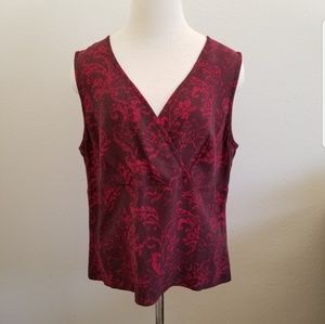 Tommy Bahama Red Tank Top